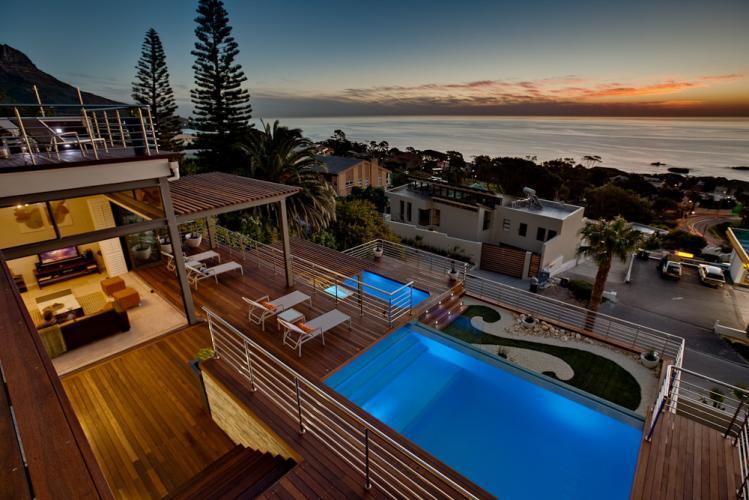 family Christmas self catering holiday villa rentals Cape Town